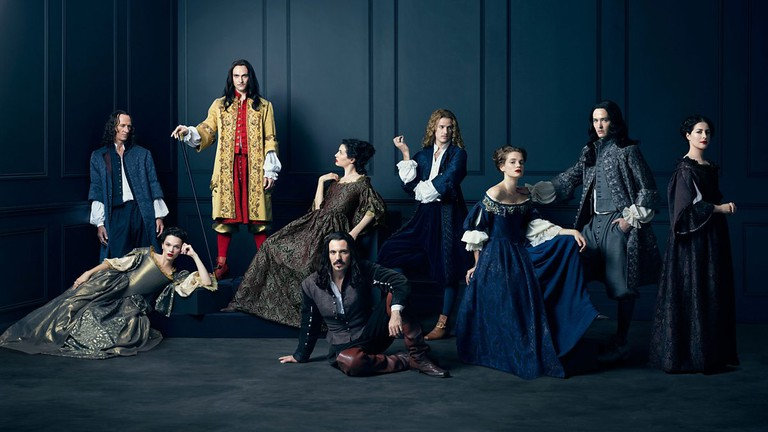 Cast of Season 1 'Versailles' │© Tibo & Anouchka / Capa Drama / Zodiak Ficion / Incendo / Canal+