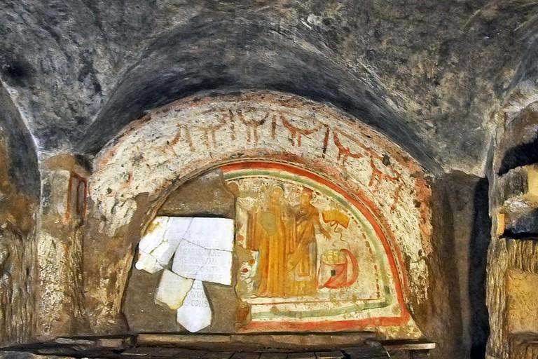 Catacombs of St. Domitilla