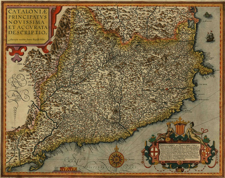 The Principality of Catalonia (1608)
