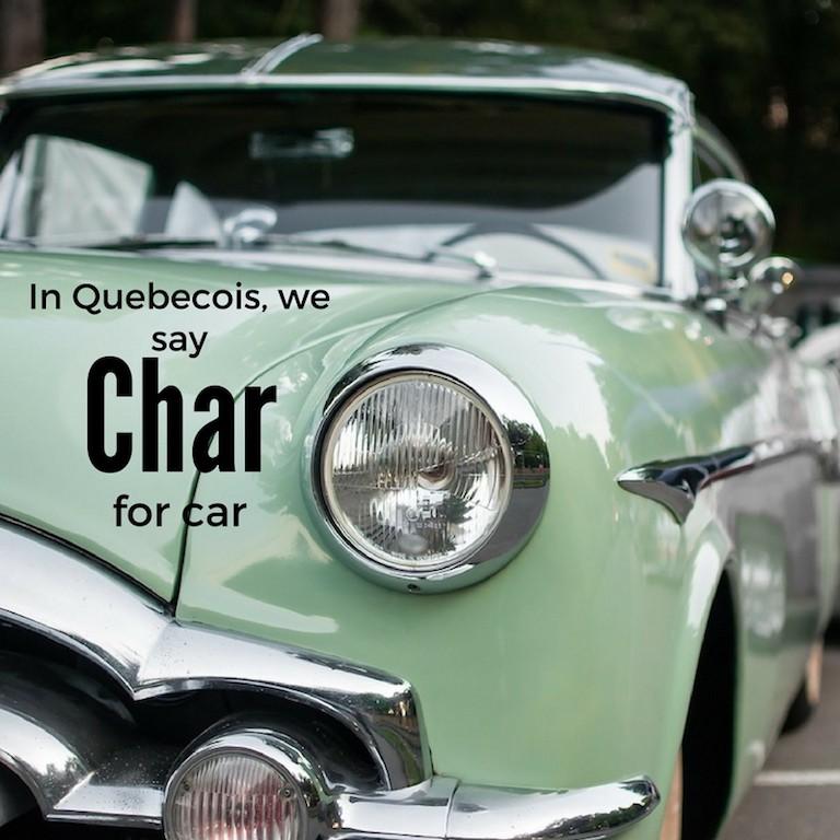 Char – Car