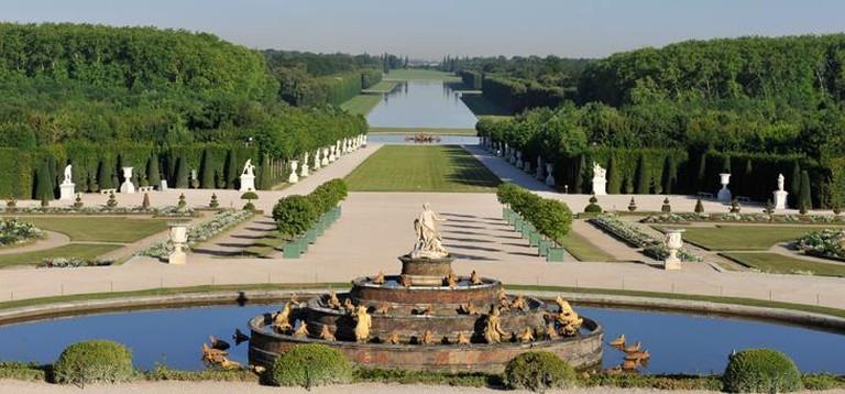 The Musical Gardens. Versailles, France