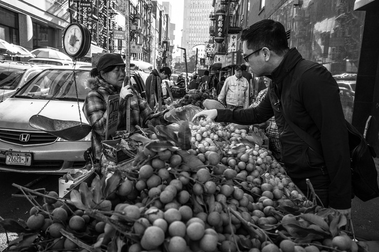 Chinatown Fruit Stand