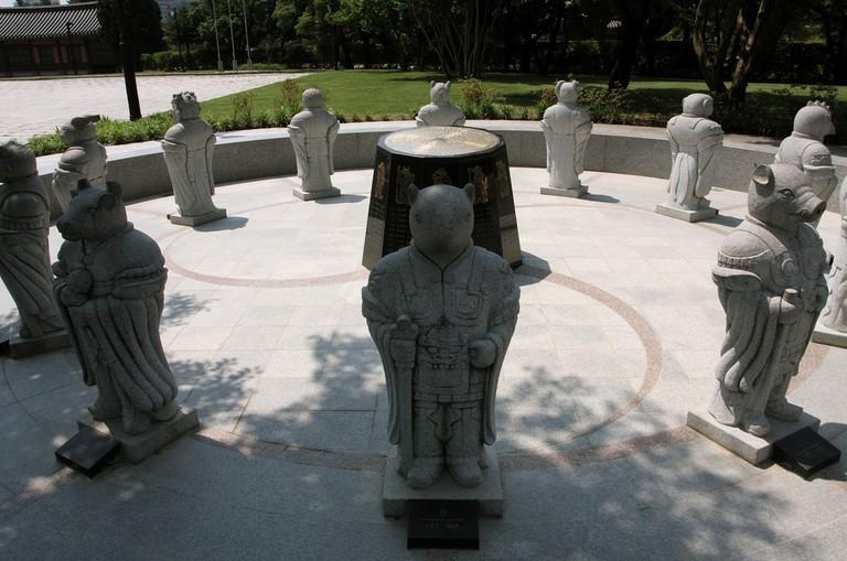 Chinese Zodiac Statues – Seoul