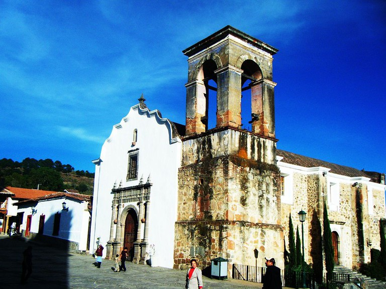 Spanish colonial-era Church of Immaculate Conception in Tapalpa | © Pabloangulo84 / Wikimedia Commons