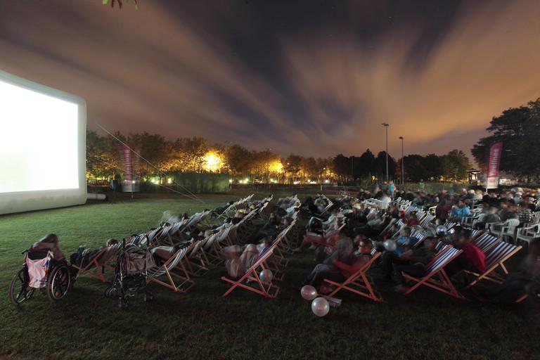 Cinéma en plein air │© Conseil départemental des Yvelines / Flickr