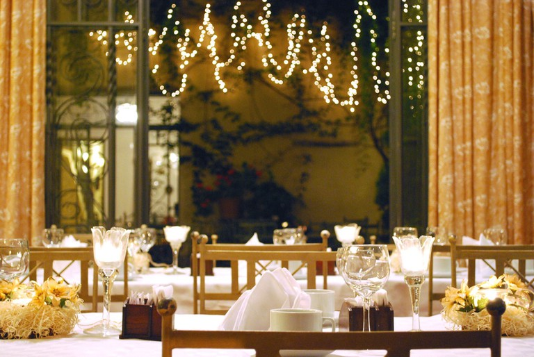 Dining area of Hotel del Antiguo Convento