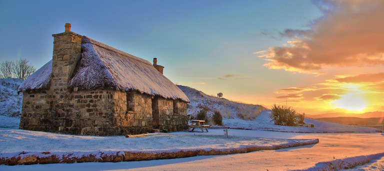 Mary's Cottages on the Isle of Skype
