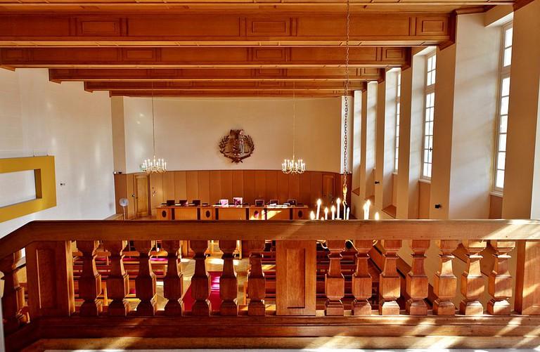Courtroom of the Hôtel d'Aumont, tribunal administratif de Paris│© Ray9 / Wikimedia Commons