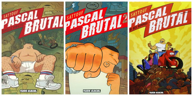 Covers of Pascal Brutal │ Courtesy of Fluide Glacial