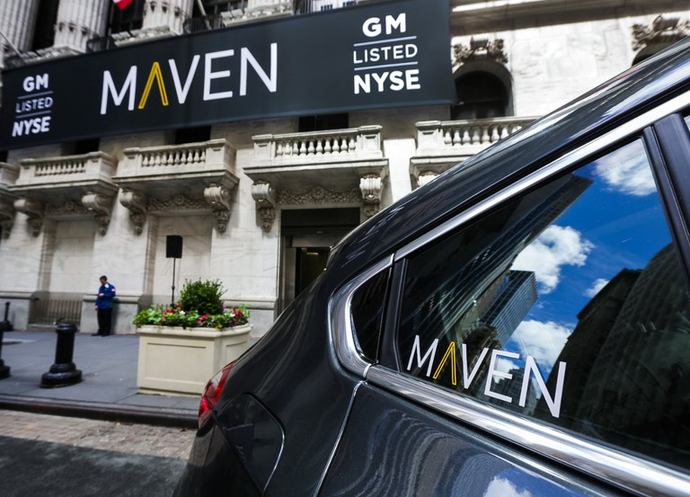 Maven recently launched in New York | Courtesy of GM