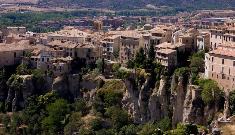 Cuenca's famous hanging houses