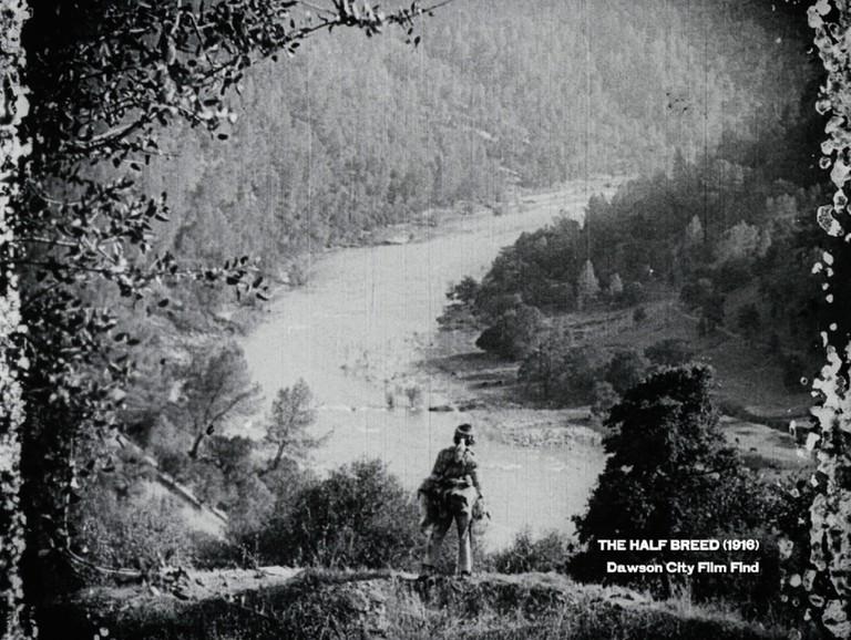 "Douglas Fairbanks in ""The Half-Breed"" (1916)   Courtesy of Dawson City Film Find, Kino Lorber"