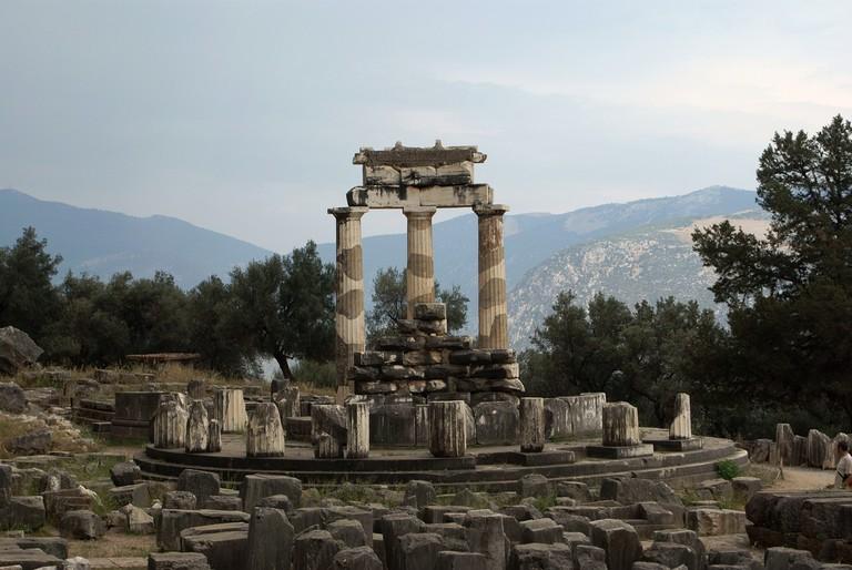 Tholos of Athena, Delphi   DebraJean / Pixabay