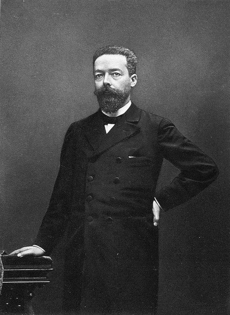 A portrait of Paul Doumer in 1905