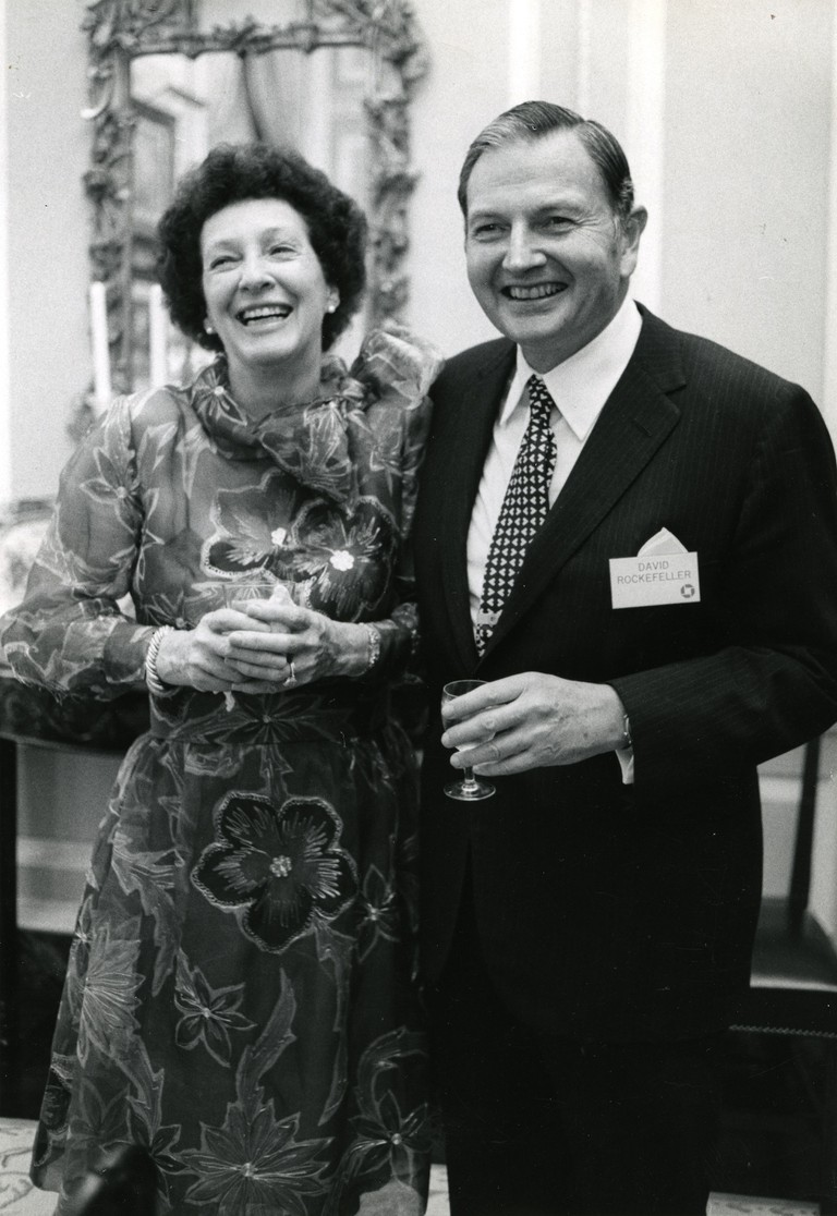 Peggy and David Rockefeller, May 1973. Photo: Arthur Lavine/Rockefeller Estate | © Christie's Images Ltd. 2017