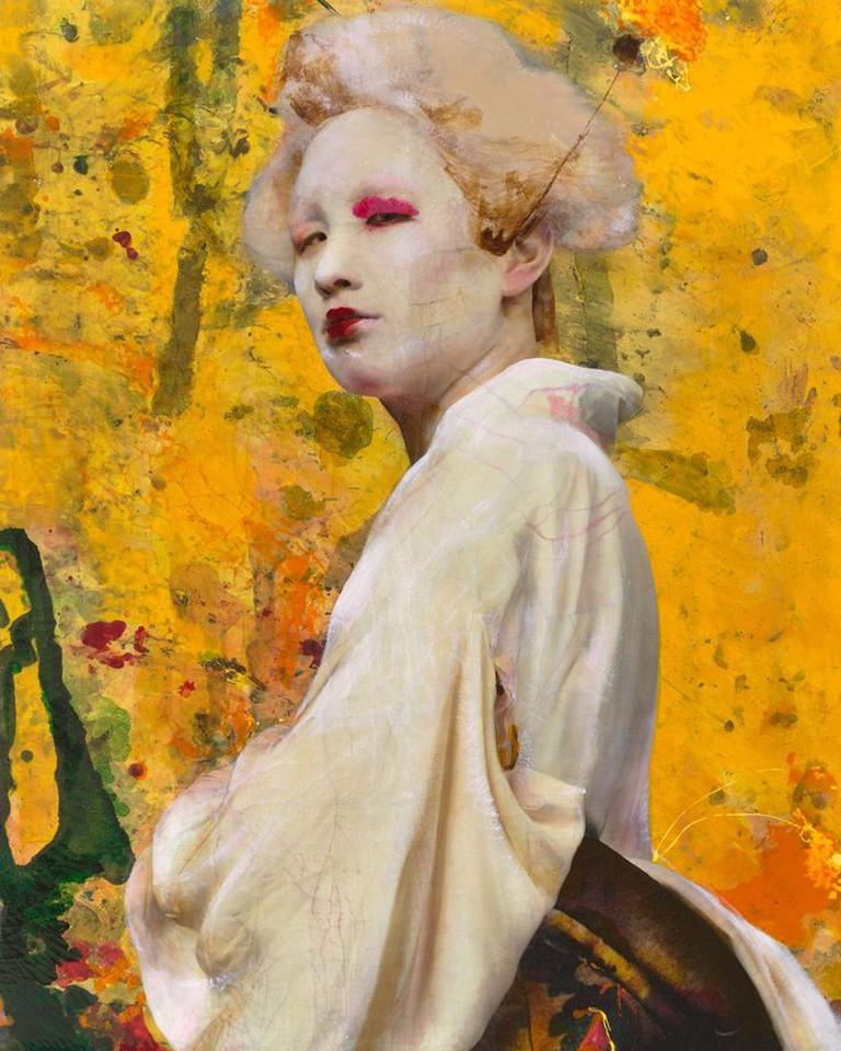 Dried Tear by Lita Cabellut