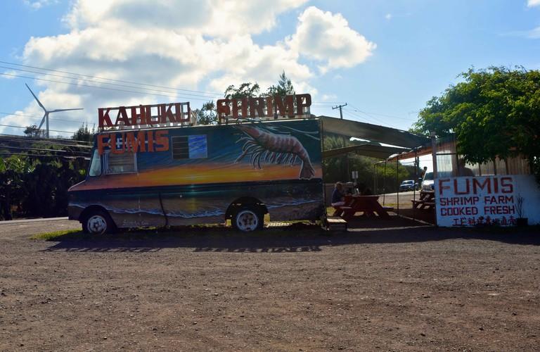 Fumis Kahuku Shrimp | © GE Keoni