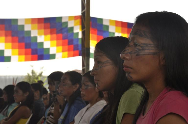 Sarayaku women by Esteffany Bravo