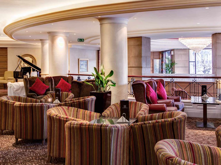 The lobby at the Europa | Courtesy of The Europa Hotel