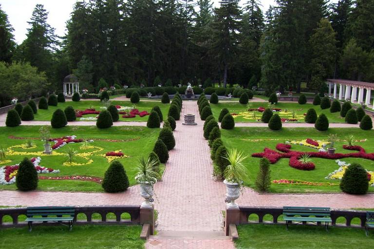 Sonnenberg Gardens. Finger Lakes Region, New York