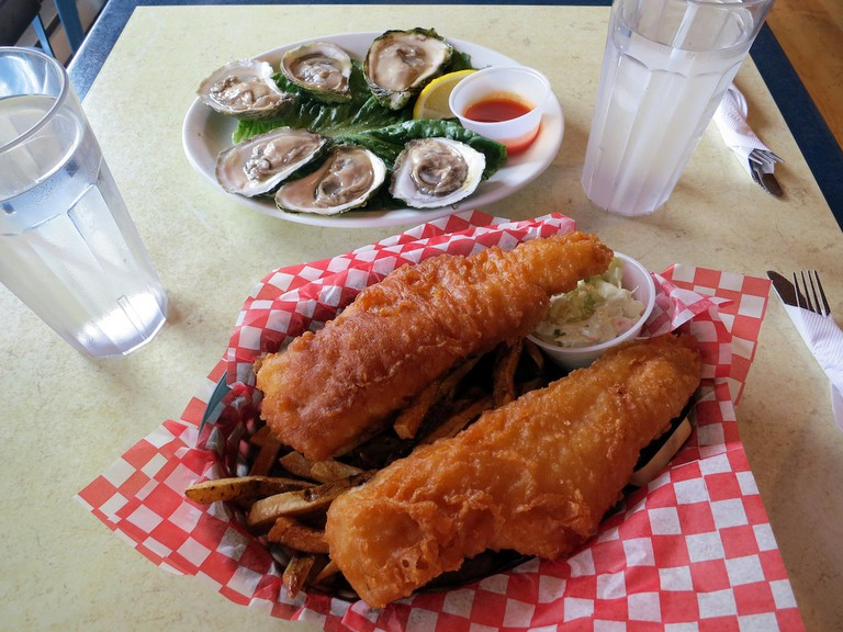 Oysters and Fish & Chips