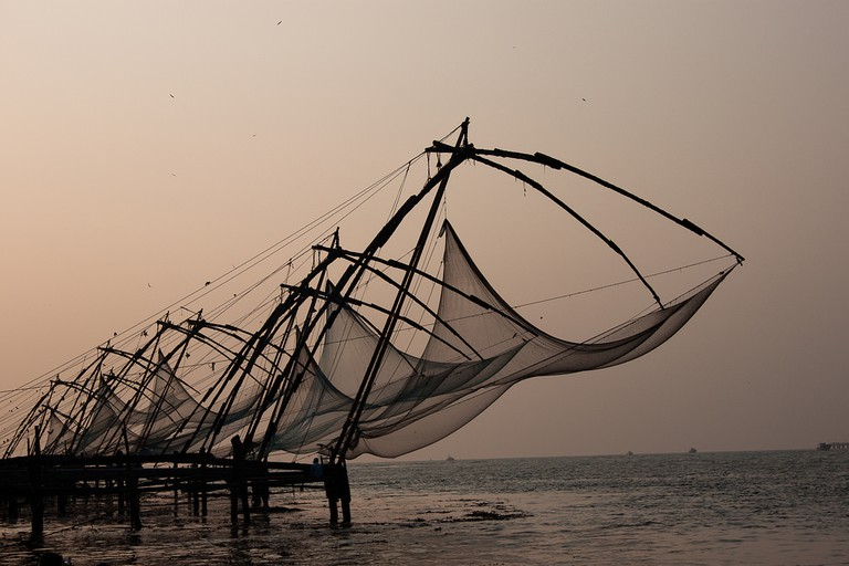 Chinese Fishing Net at Fort Kochi