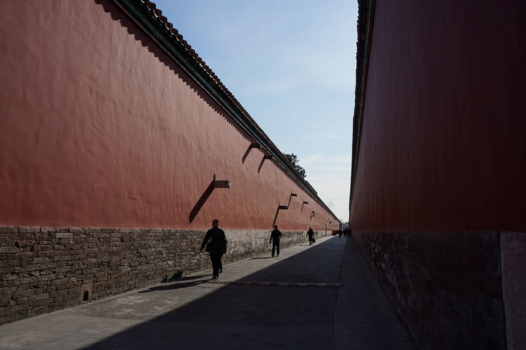 Walls of the Forbidden City