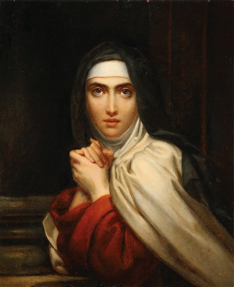 A young Saint Teresa