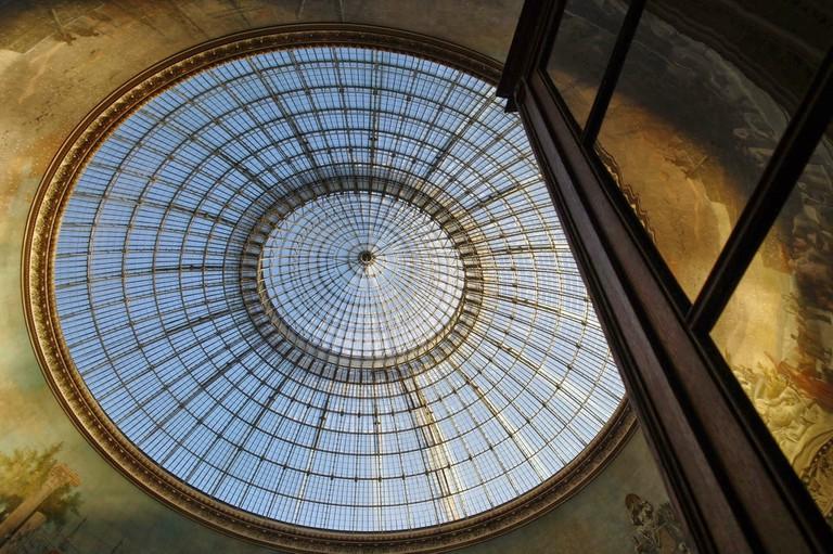 Glass cupola of the Bourse de Commerce │© Pascalgonzalez / Wikimedia Commons