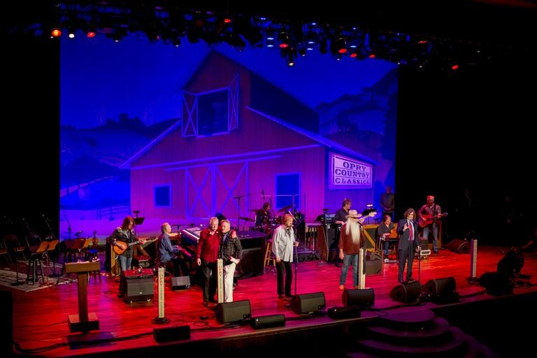 The Oak Ridge Boys, Grand Ole Opry Country Classics show at the Ryman Auditorium