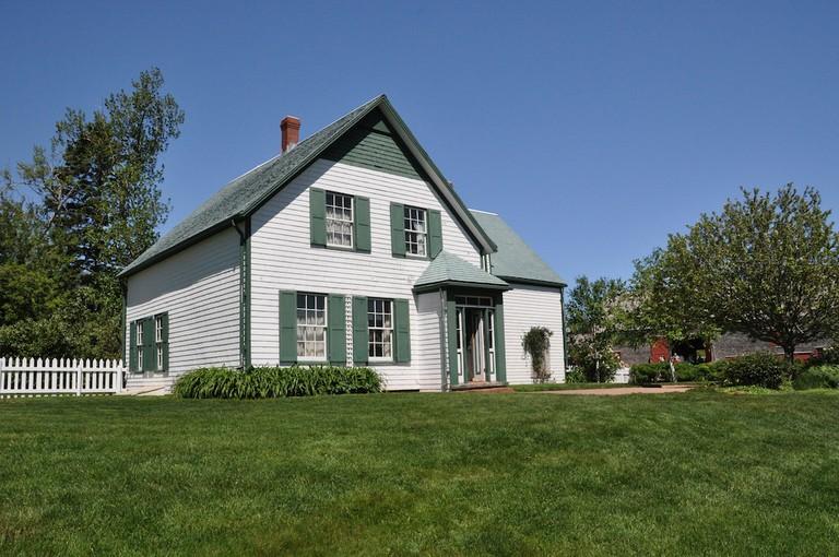 The Green Gables homestead