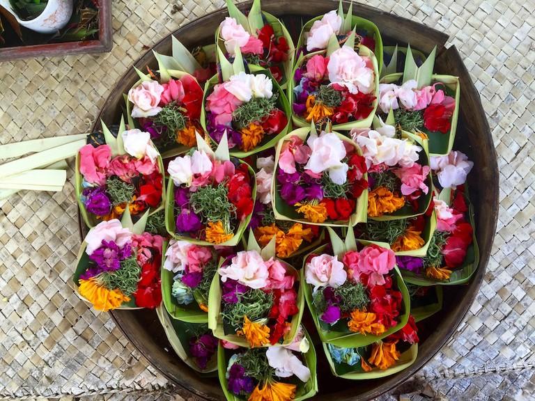 Canang Sari | © Nikki Vargas