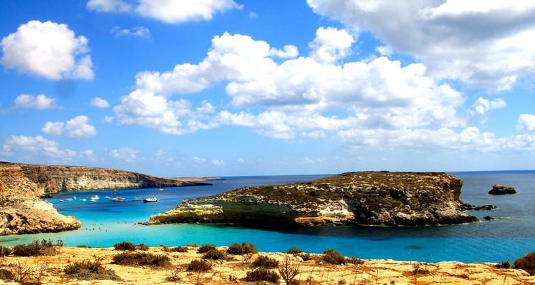 Isola dei Conigli a Lampedusa©Lucio Sassi:Flickr