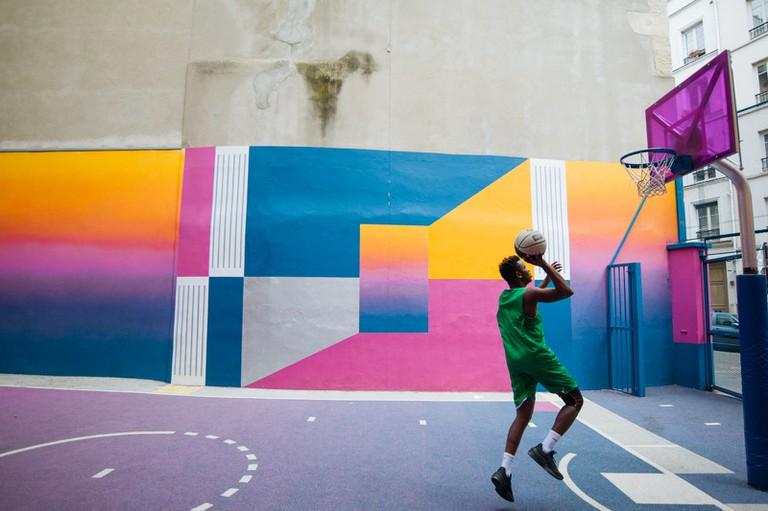 Pigalle Basketball Court-Paris-France-McCarthy