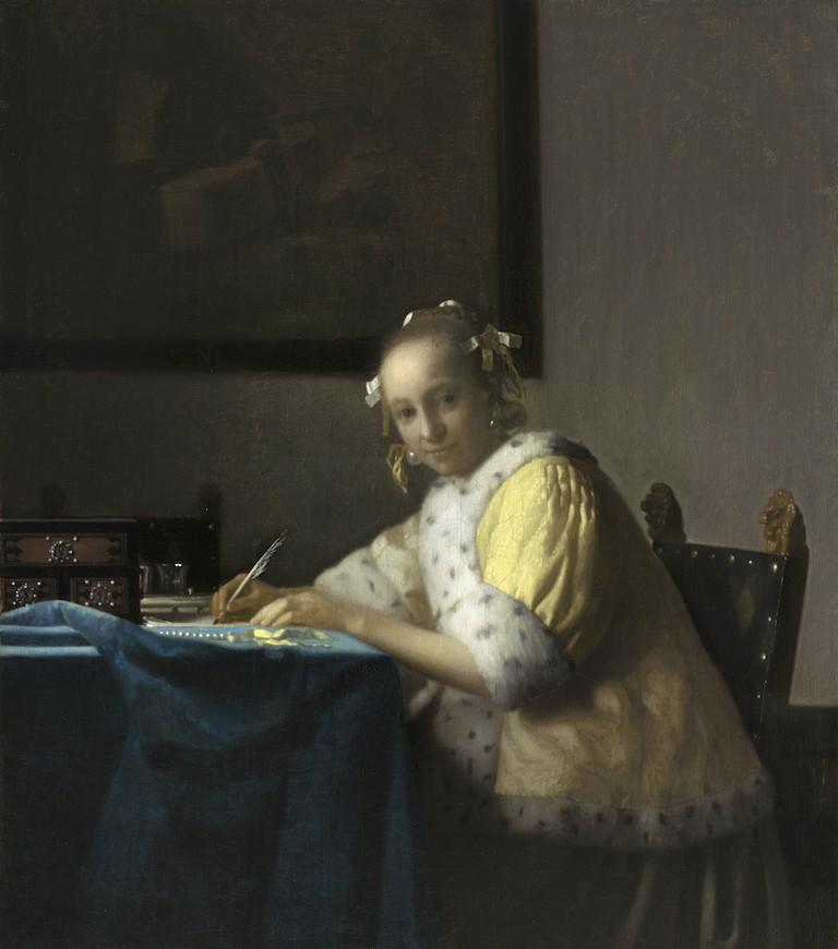 Johannes Vermeer, 'Lady Writing', c.1665-7
