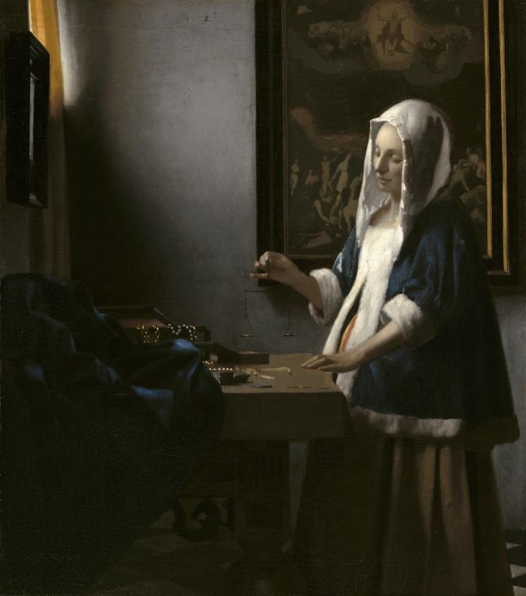 Johannes Vermeer, 'Woman With a Balance', c.1664