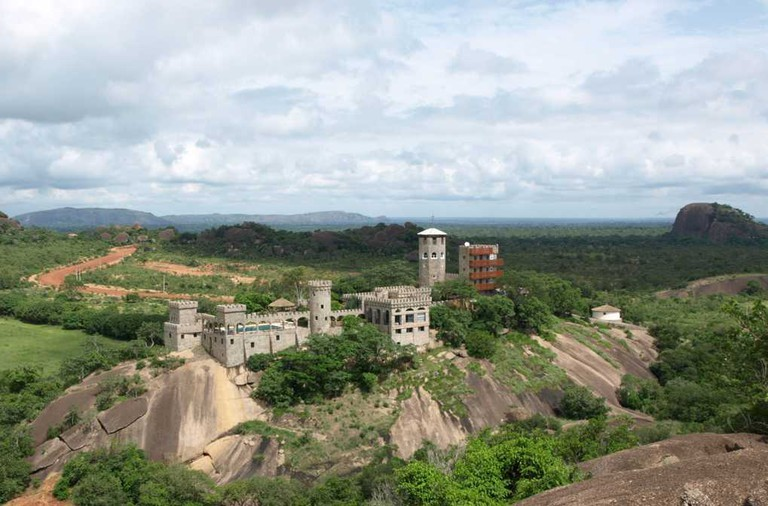 Castle on the hill. The Kajuru Castle in Kaduna