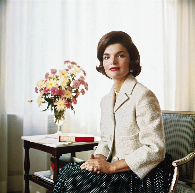 JACQUELINE KENNEDY, June 1955. Image courtesy of TTR Sotheby's International Realty