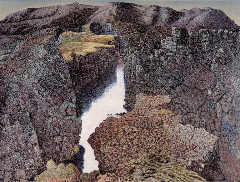 Jóhannes S. Kjarval, 'Mountain Milk,' 1941 | Courtesy of the ASÍ Art Collection