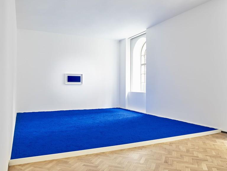 Yves Klein, 'Pigment pur bleu', 1957/2018 at Lévy Gorvy, London, 2018