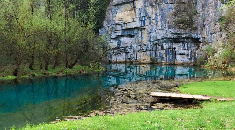 Spring of the Krupa river│