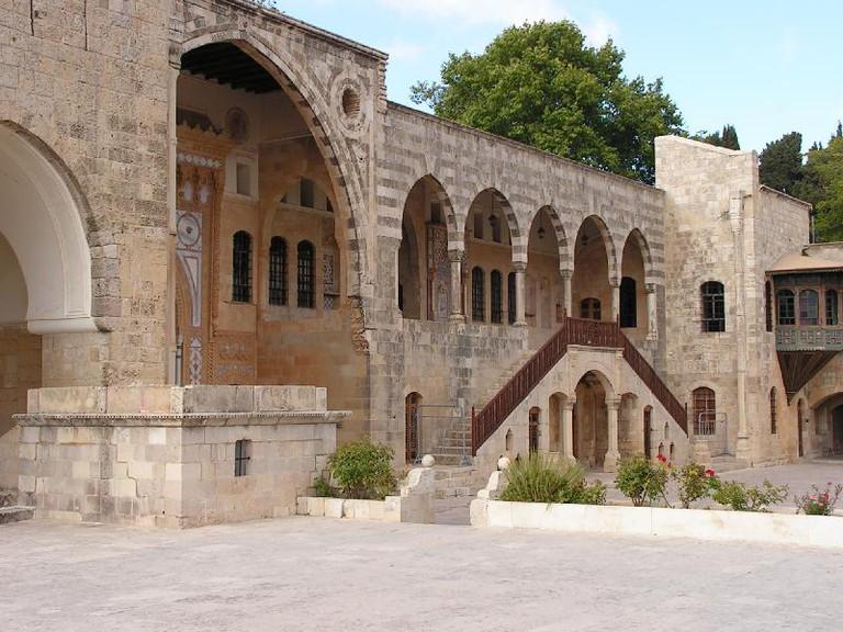 Archways and doors in Beiteddine