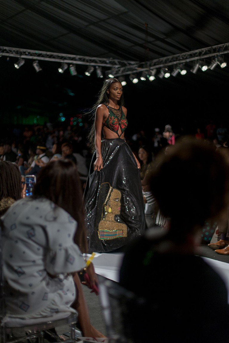 A showcase at the Lagos Fashion and Design Week