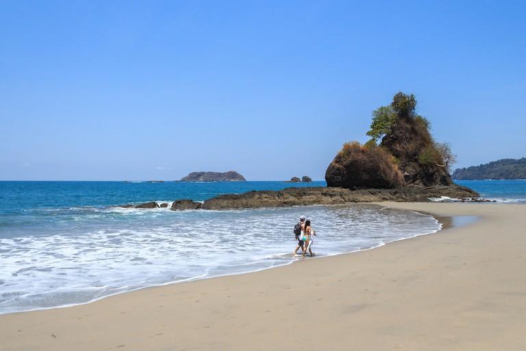 Take a romantic beach walk
