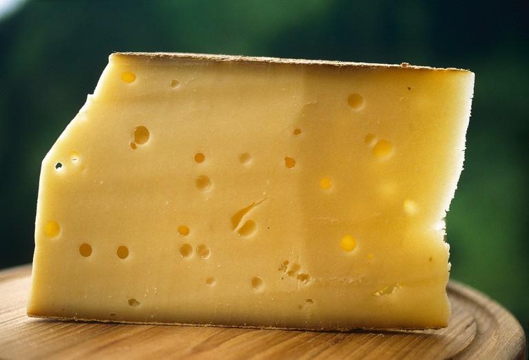 """Bergkaese"" cheese Bregenz Forest"