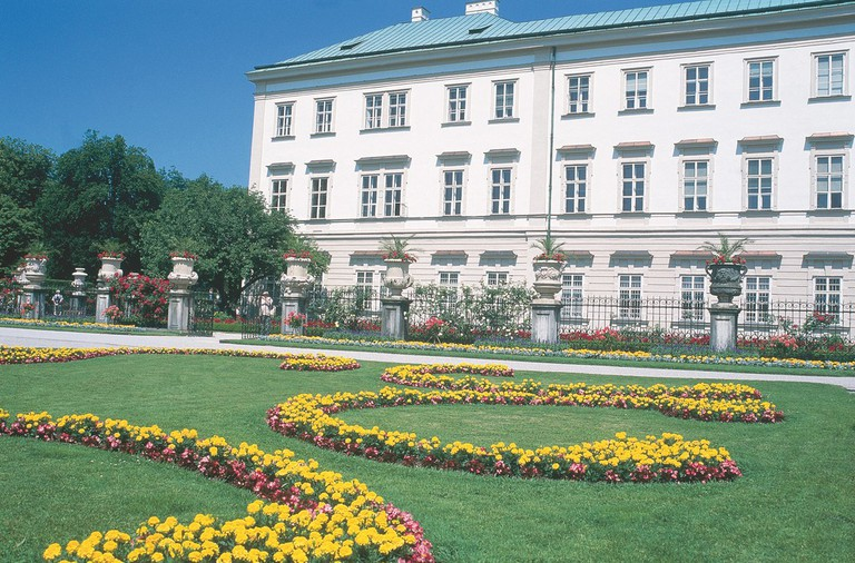 Mirabell Palace in Salzbur