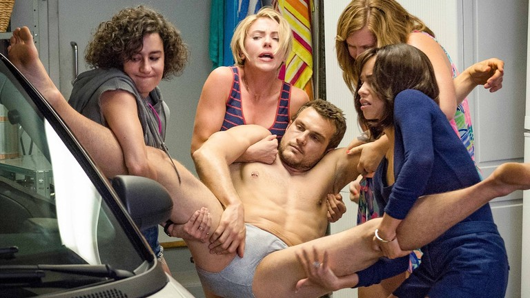 "Dead weight: Ryan Cooper as the unfortunate stripper in ""Rough Night"""
