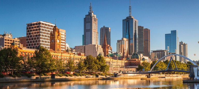 Melbourne at afternoon