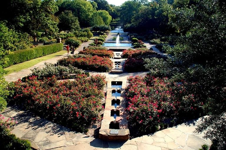 Fort Worth Botanical Garden. Fort Worth, Texas