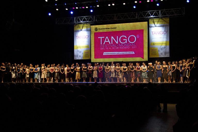 Mundial de Tango, 2011   © Gobierno de la Ciudad de Buenos Aires, photo by Estrella Herra / Wikimedia Commons